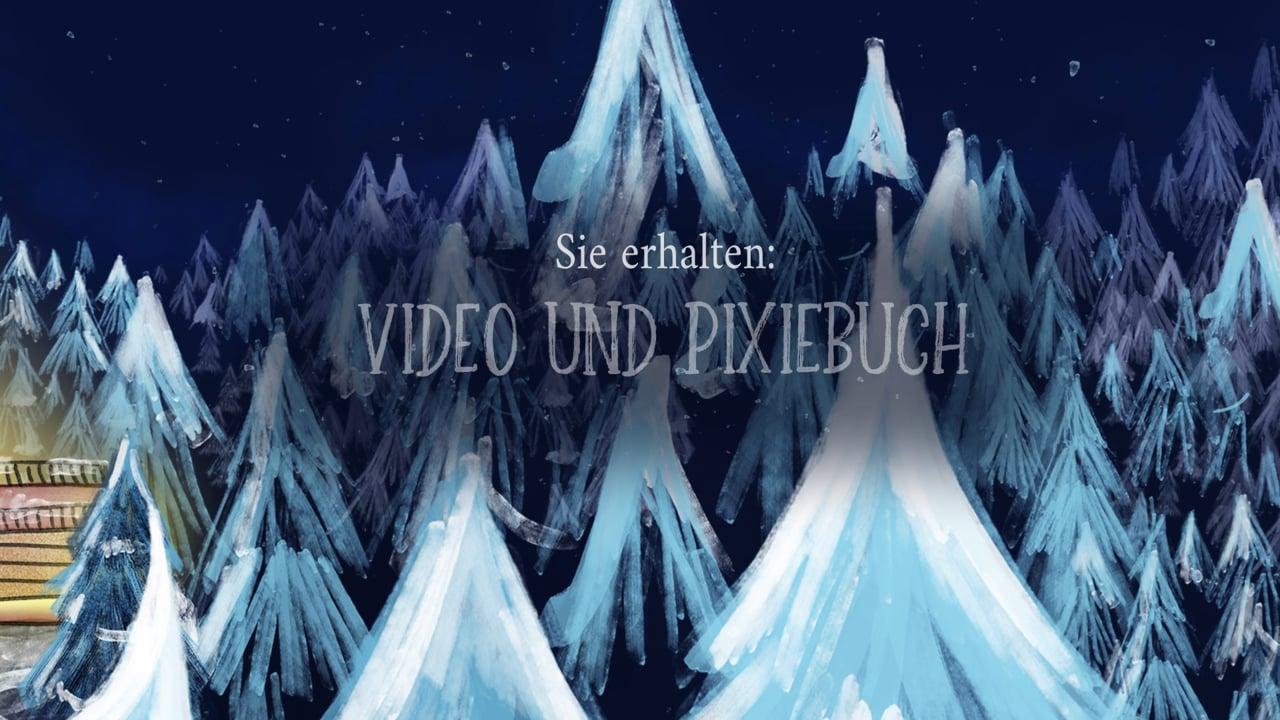 Pixiebuch-Druckvorlage: Als der Weihnachtsmann mal versackt ist